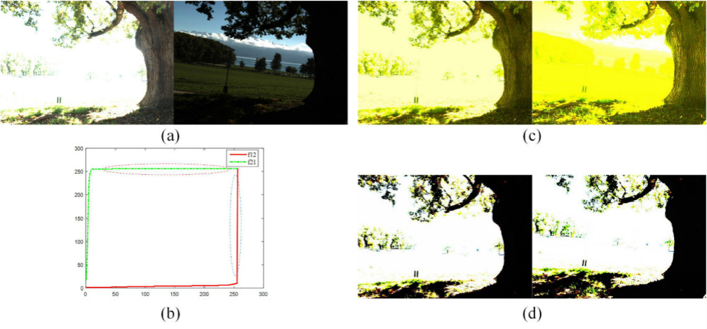 Figure 1 for Robust Alignment of Multi-Exposed Images with Saturated Regions