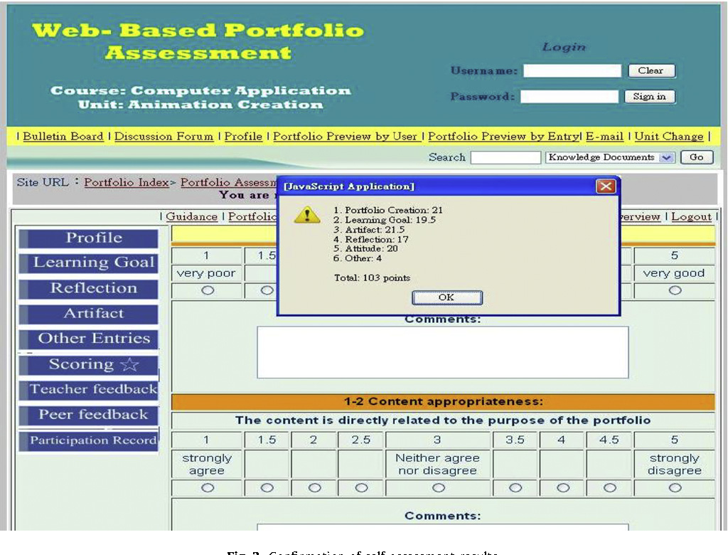 Is learner self-assessment reliable and valid in a Web-based