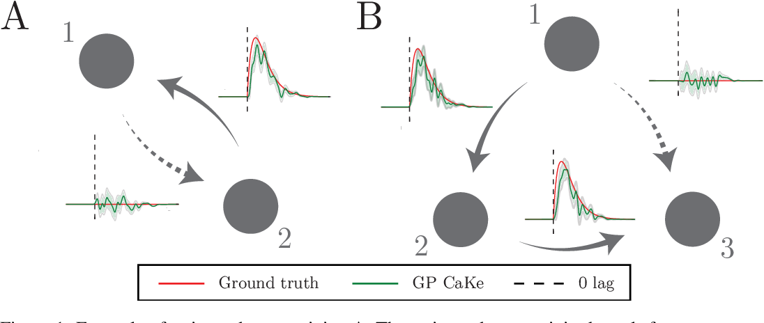 Figure 1 for GP CaKe: Effective brain connectivity with causal kernels