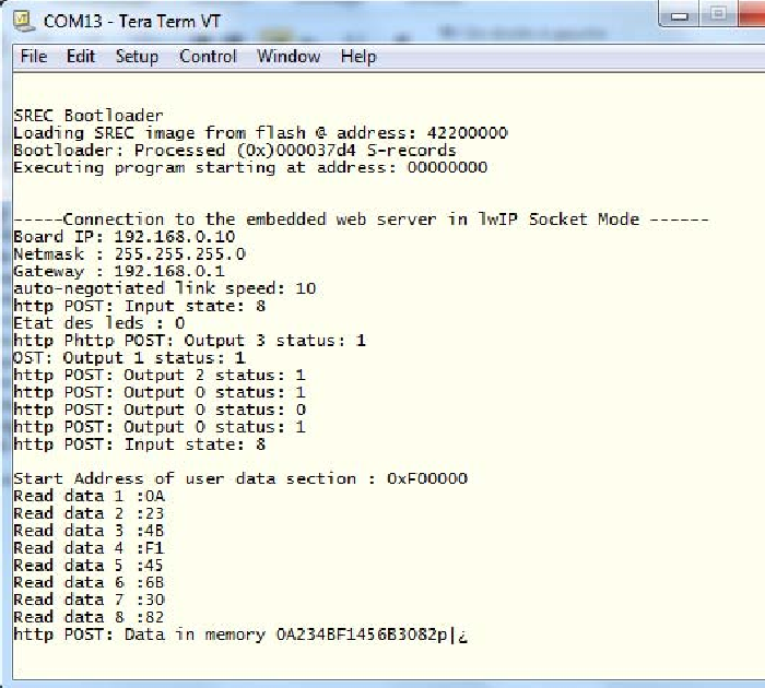 Figure 10 from Embedded web server for real-time remote control and