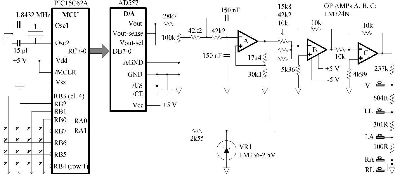 figure 4 from ecg simulator for testing and servicing