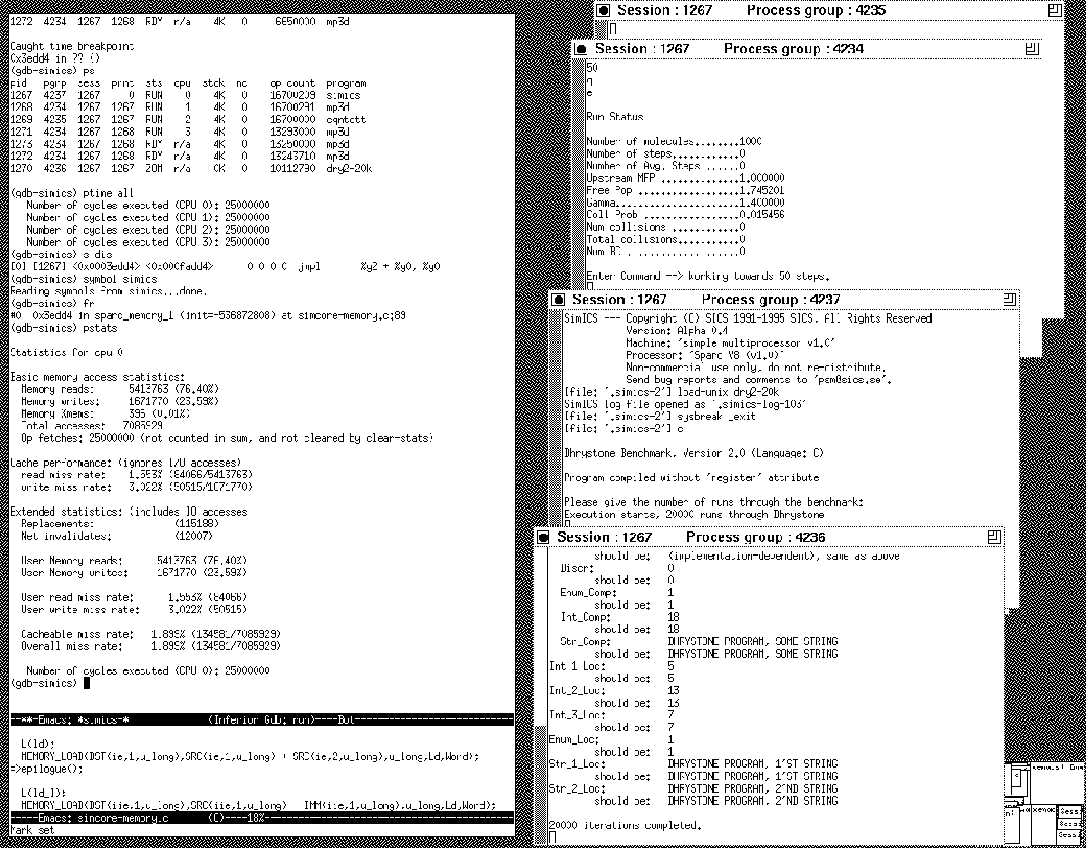 Sics Tr T 97 02 Performance Debugging And Tuning Using An