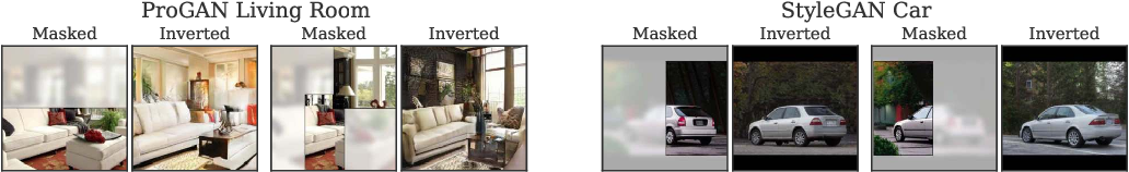 Figure 3 for Using latent space regression to analyze and leverage compositionality in GANs