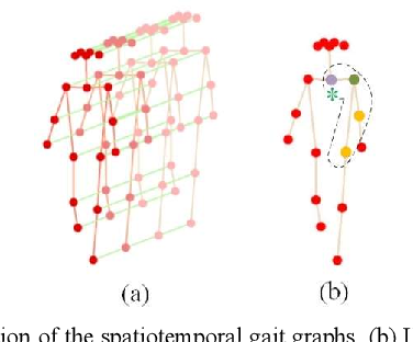 Figure 2 for A model-based Gait Recognition Method based on Gait Graph Convolutional Networks and Joints Relationship Pyramid Mapping