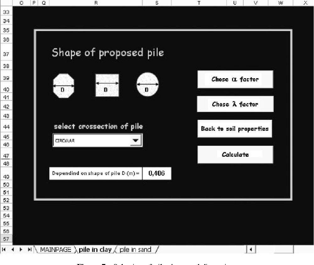Pile foundation design using Microsoft Excel - Semantic Scholar