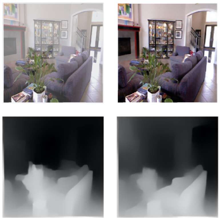 Figure 1 for Efficient Unpaired Image Dehazing with Cyclic Perceptual-Depth Supervision