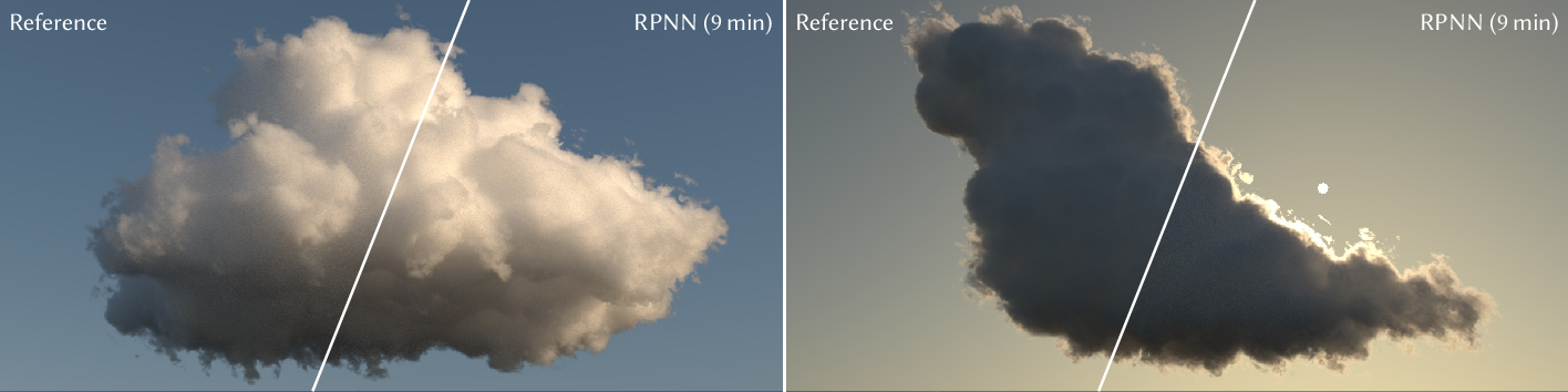 Figure 1 for Deep Scattering: Rendering Atmospheric Clouds with Radiance-Predicting Neural Networks