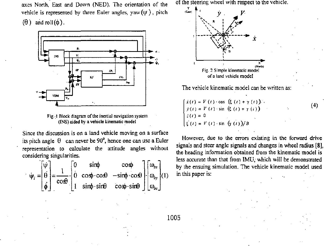 Vehicle model aided inertial navigation - Semantic Scholar