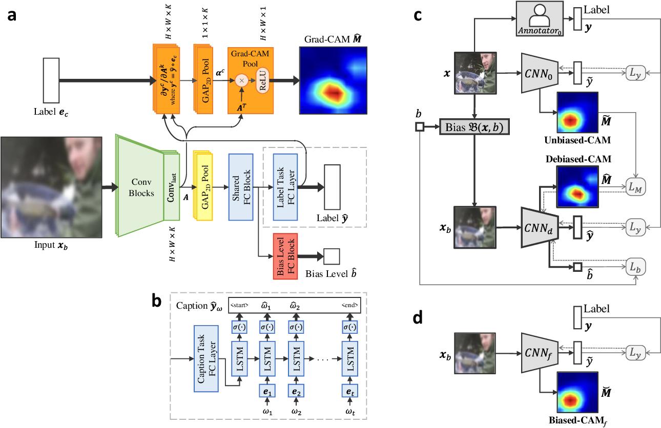 Figure 3 for Debiased-CAM for bias-agnostic faithful visual explanations of deep convolutional networks