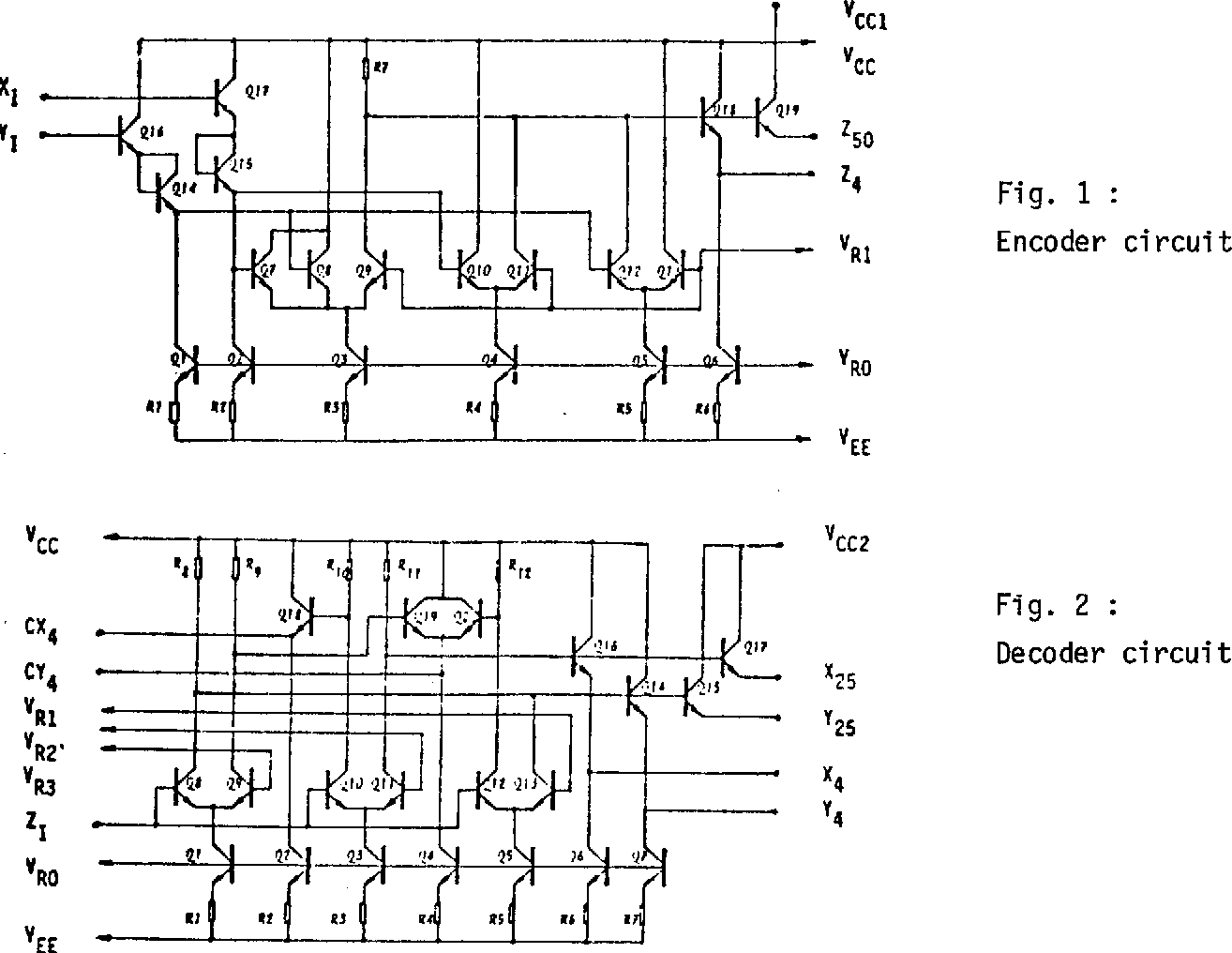 A 4-valued ECL encoder and decoder circuit - Semantic Scholar