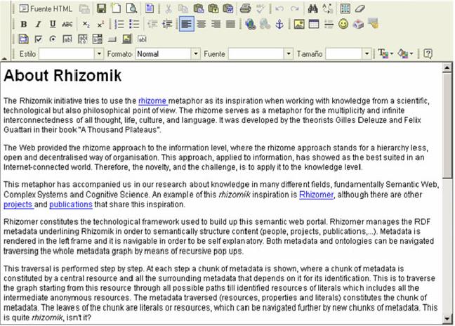PDF] Building a Semantic IntraWeb with Rhizomer and a Wiki