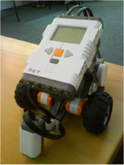 Figure 2 from Realistic simulation of a Lego Mindstorms NXT