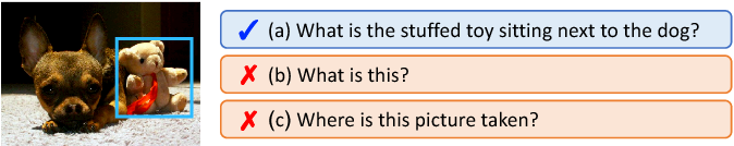 Figure 1 for Visual Question Generation for Class Acquisition of Unknown Objects