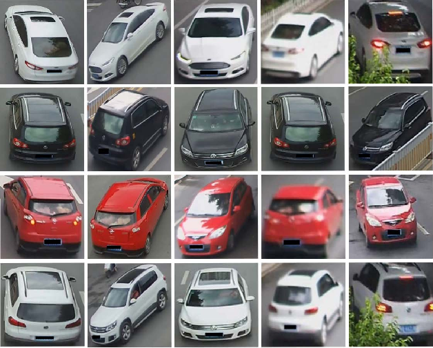 Figure 1 for Vehicle Re-identification Using Quadruple Directional Deep Learning Features