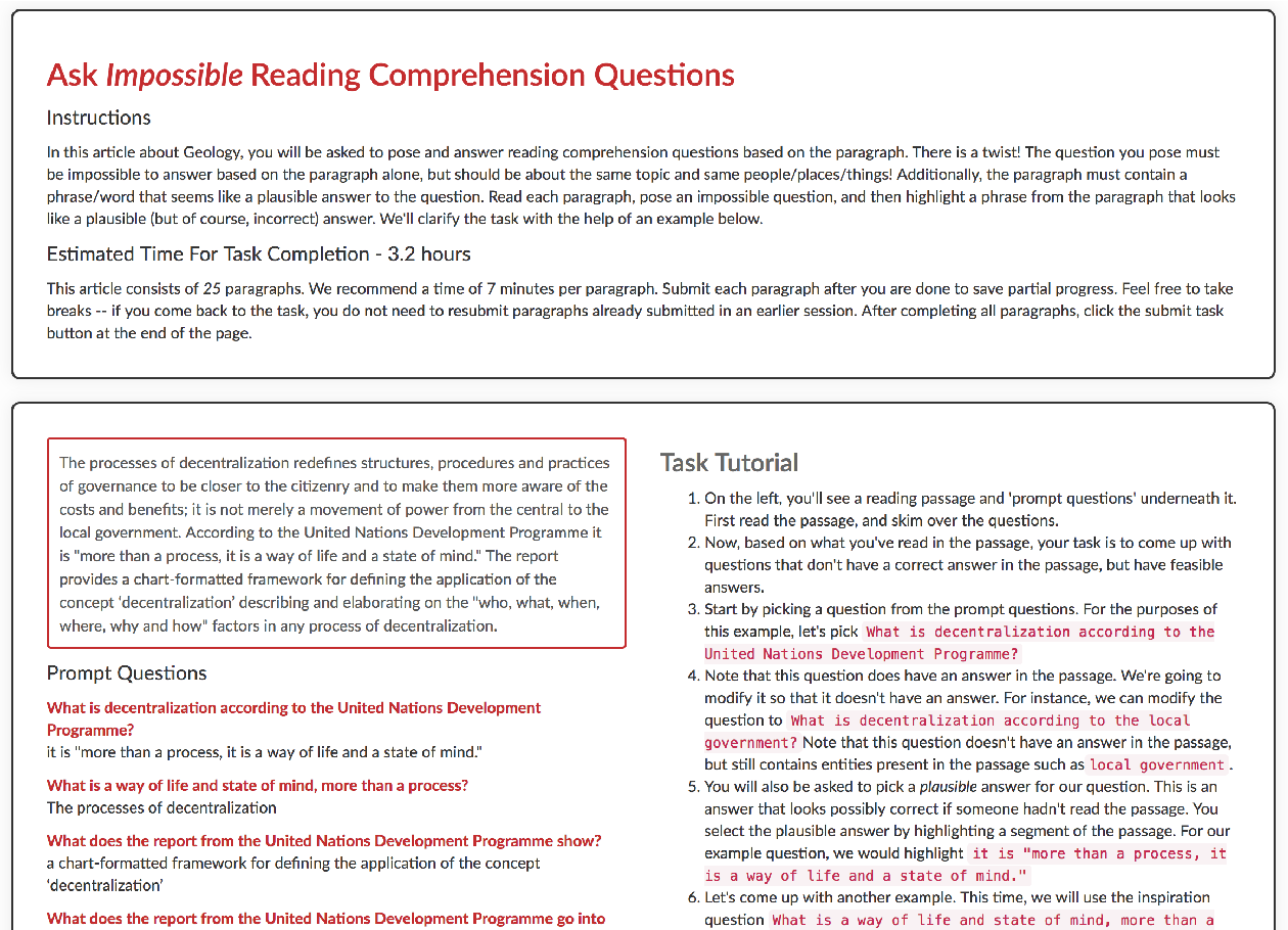 Figure 4 for Know What You Don't Know: Unanswerable Questions for SQuAD