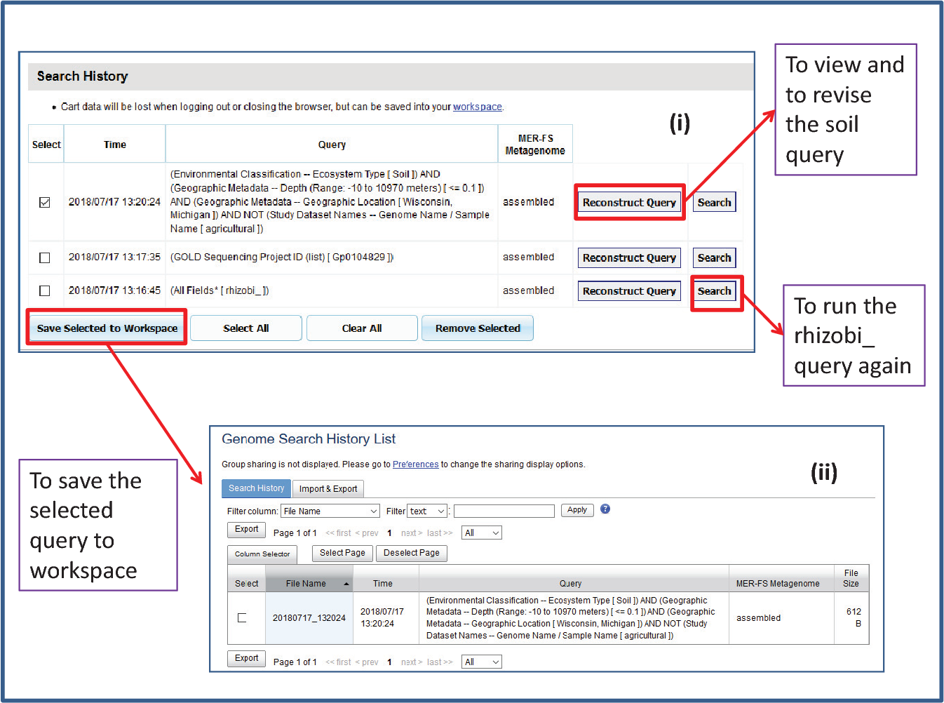 Figure 4 from IMG/M v 5 0: an integrated data management and