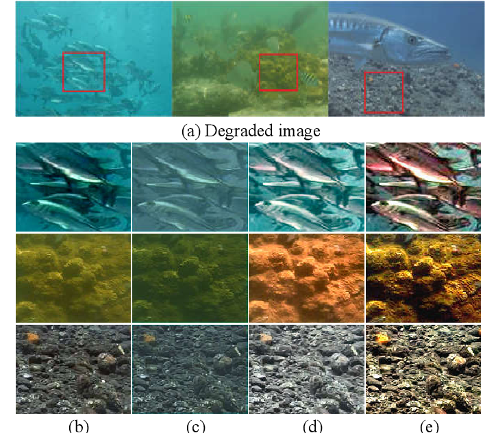 Figure 2 for Underwater Image Enhancement Based on Structure-Texture Reconstruction