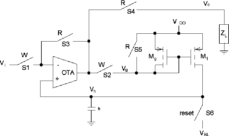 analog cmos peak detect and hold circuits part 2 the two phase