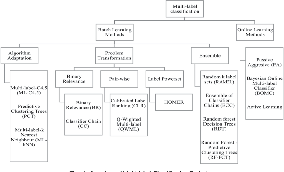 Figure 1 for A Novel Online Real-time Classifier for Multi-label Data Streams