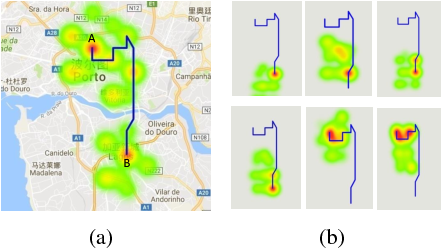 Figure 4 for T-CONV: A Convolutional Neural Network For Multi-scale Taxi Trajectory Prediction