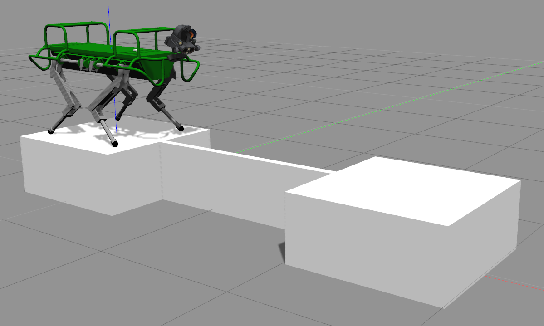 Figure 1 for Line Walking and Balancing for Legged Robots with Point Feet