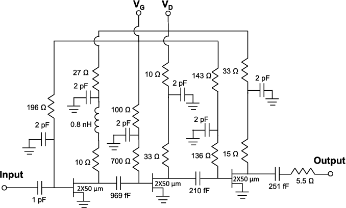 Figure 11 from 0 3–14 and 16–28 GHz Wide-Bandwidth Cryogenic