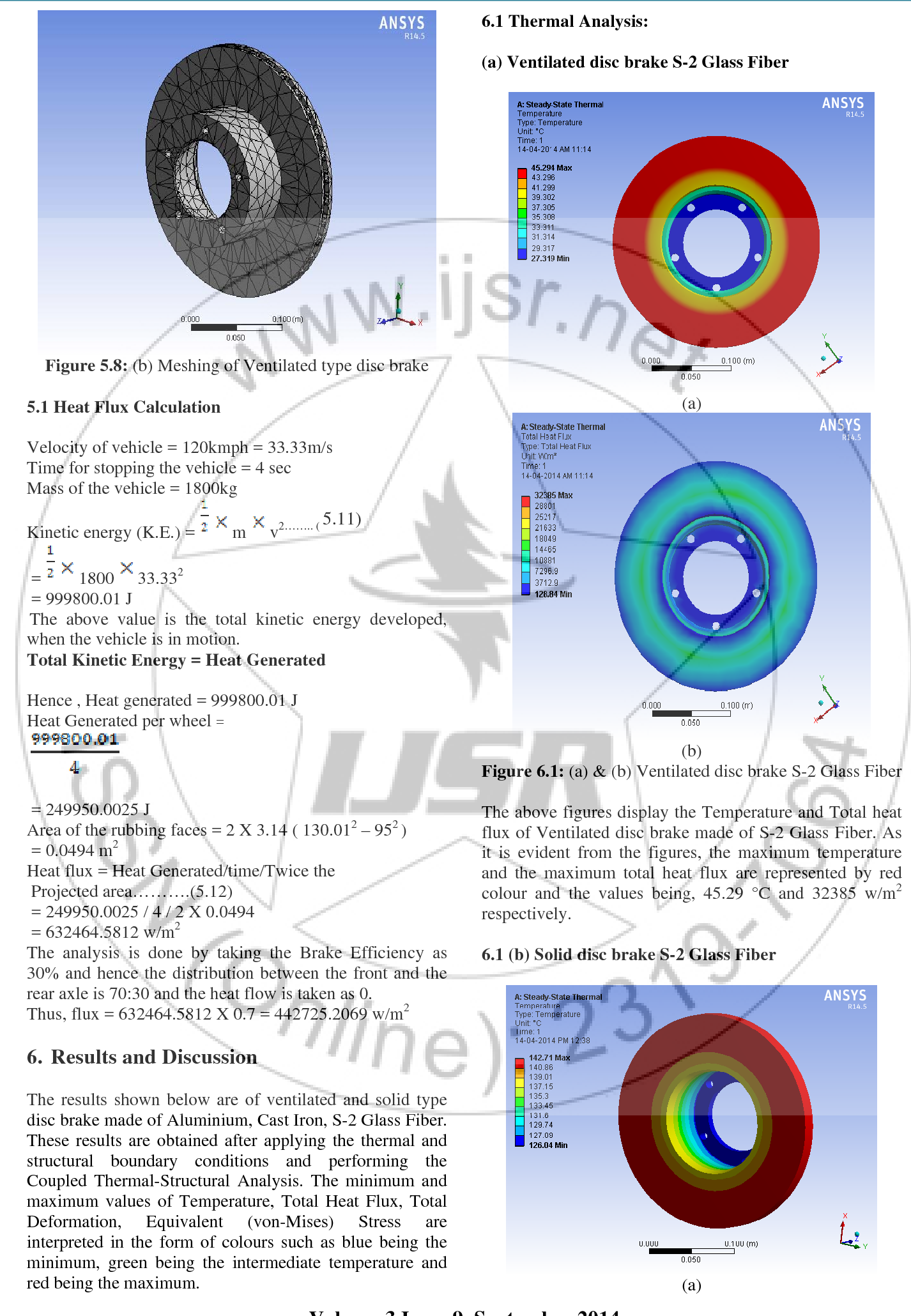 PDF] Finite Element Analysis of Solid and Ventilated Disc