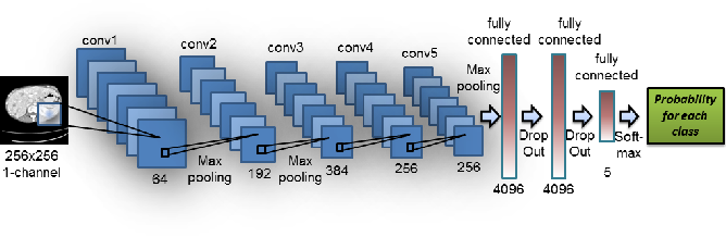 Figure 4 for Anatomy-specific classification of medical images using deep convolutional nets