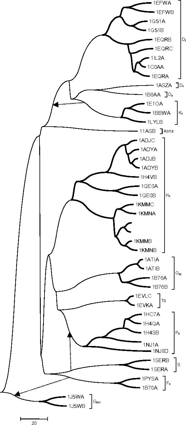 Figure 4 for TALI: Protein Structure Alignment Using Backbone Torsion Angles