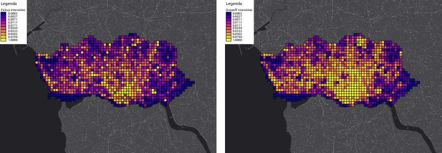 Figure 1 for Modeling Taxi Drivers' Behaviour for the Next Destination Prediction