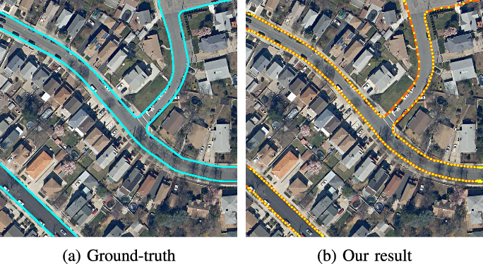 Figure 1 for iCurb: Imitation Learning-based Detection of Road Curbs using Aerial Images for Autonomous Driving