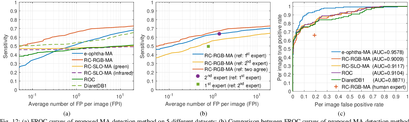 Figure 4 for Retinal Microaneurysms Detection using Local Convergence Index Features