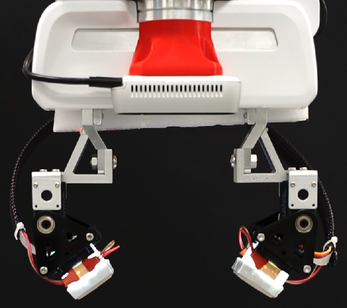 Figure 1 for Viko: An Adaptive Gecko Gripper with Vision-based Tactile Sensor