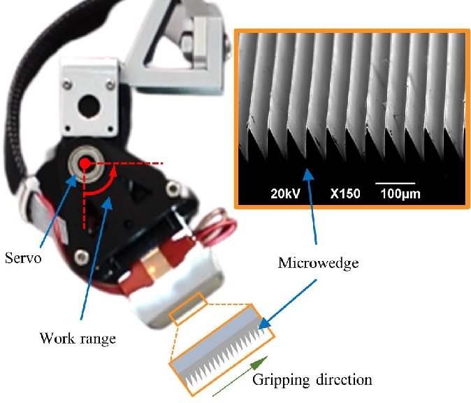 Figure 3 for Viko: An Adaptive Gecko Gripper with Vision-based Tactile Sensor