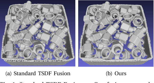 Figure 1 for Probabilistic Multi-View Fusion of Active Stereo Depth Maps for Robotic Bin-Picking