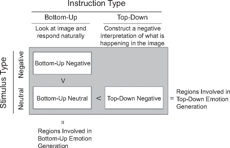 Bottom-up and top-down processes in emotion generation: common and ...
