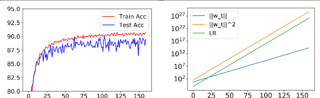Figure 1 for An Exponential Learning Rate Schedule for Deep Learning