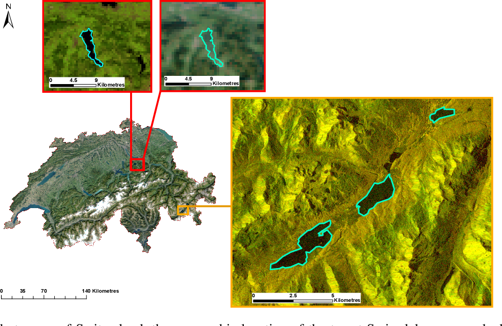 Figure 1 for Learning a Sensor-invariant Embedding of Satellite Data: A Case Study for Lake Ice Monitoring