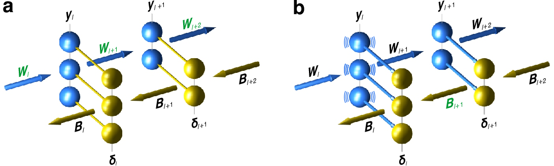 Figure 1 for Deep Learning without Weight Transport