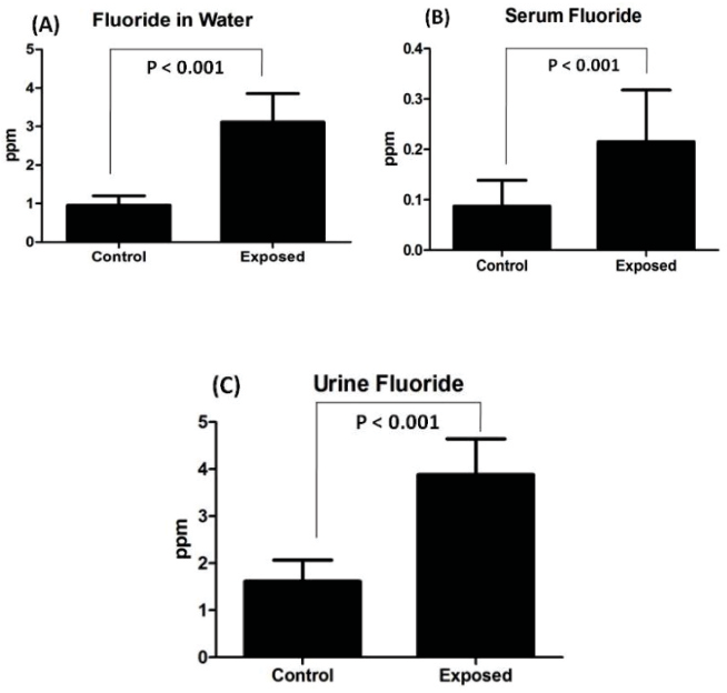 Higher Levels Of Urinary Fluoride >> Figure 1 From Fluoride Reduces Semen Quality At Risk Level In High