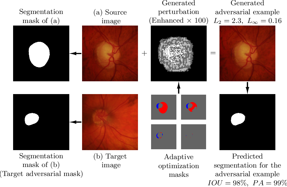 Figure 4 for Impact of Adversarial Examples on Deep Learning Models for Biomedical Image Segmentation