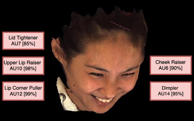 Figure 1 for Multi-View Dynamic Facial Action Unit Detection