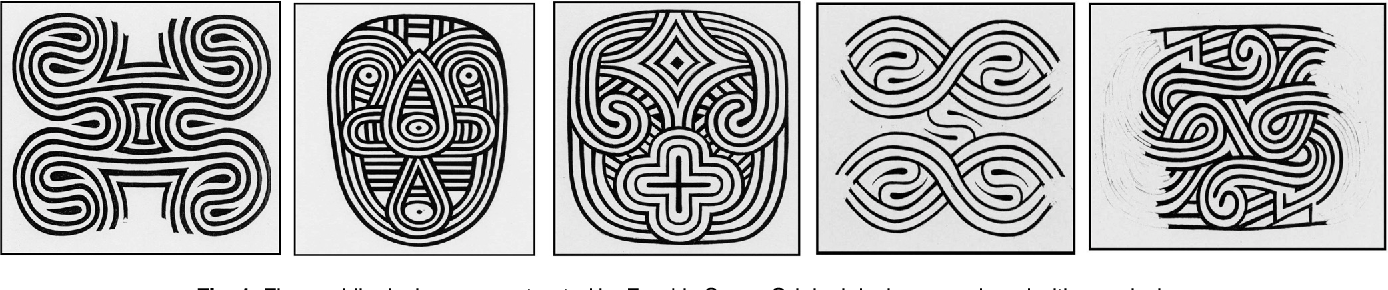Figure 1 for Identifying Designs from Incomplete, Fragmented Cultural Heritage Objects by Curve-Pattern Matching