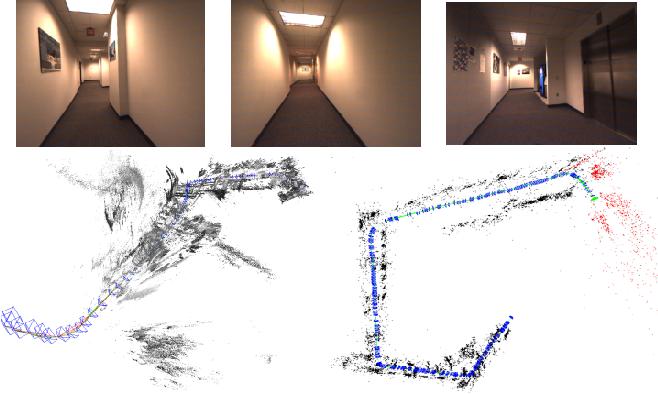 Figure 4 for Pop-up SLAM: Semantic Monocular Plane SLAM for Low-texture Environments