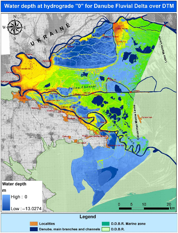 Risk Map 6 Figure 6 from Hydrological Risk Map for the Danube Delta—A Case