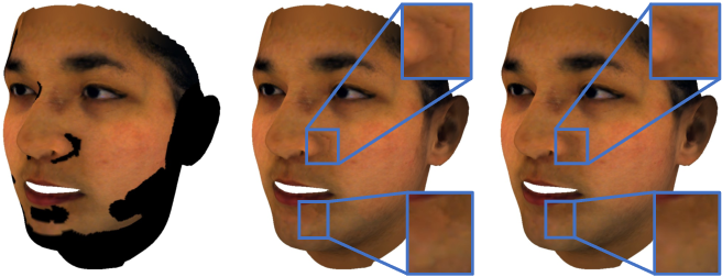 Figure 4 for A Morphable Face Albedo Model