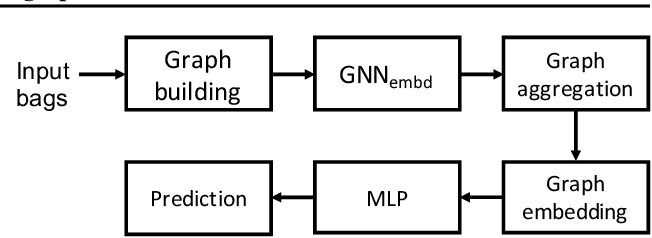 Figure 1 for Multiple instance learning with graph neural networks