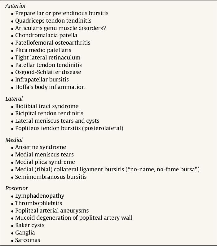 Clinical anatomy of the knee. - Semantic Scholar