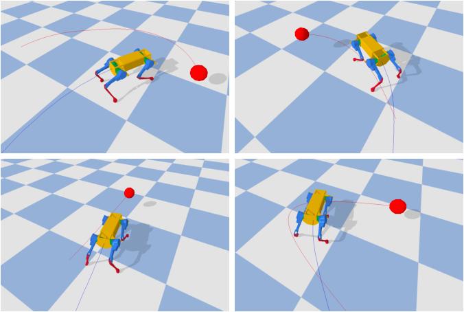 Figure 1 for Learning Agile Locomotion via Adversarial Training