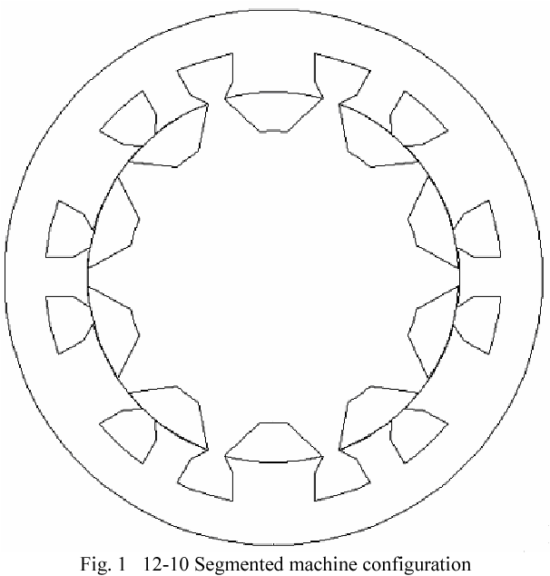 Design And Initial Testing Of An Outer Rotating Segmented Rotor